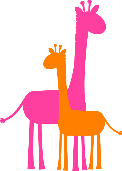 Pink Giraffe Clipart | Clipart Panda - Free Clipart Images