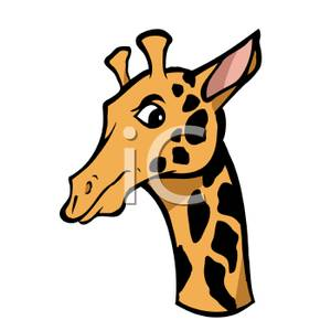 Giraffe Head Clip Art | Clipart Panda - Free Clipart Images
