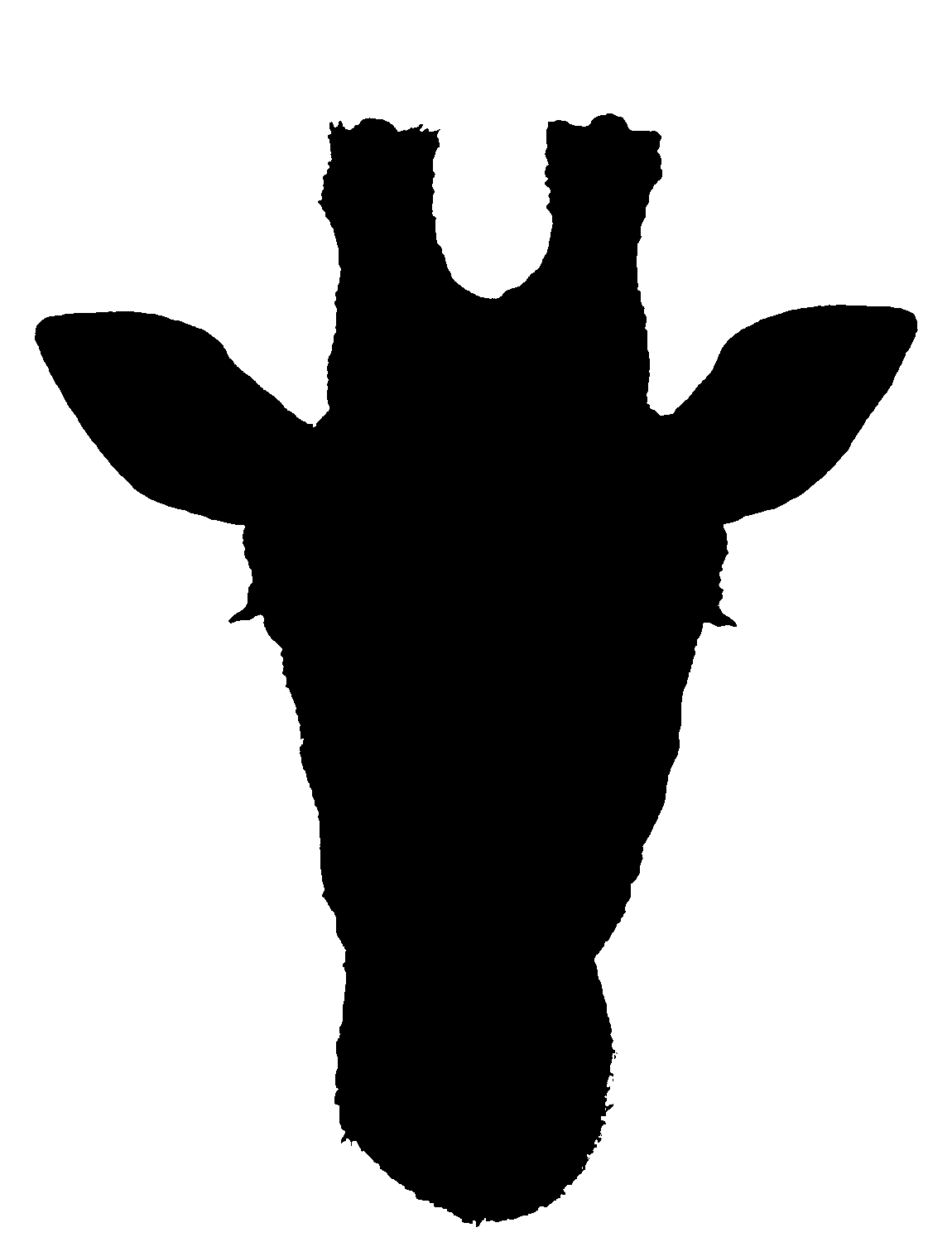 giraffe%20head%20clipart%20black%20and%20white