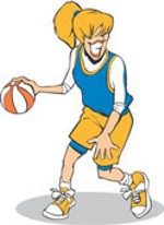 girl basketball player clipart clipart panda free clipart images rh clipartpanda com