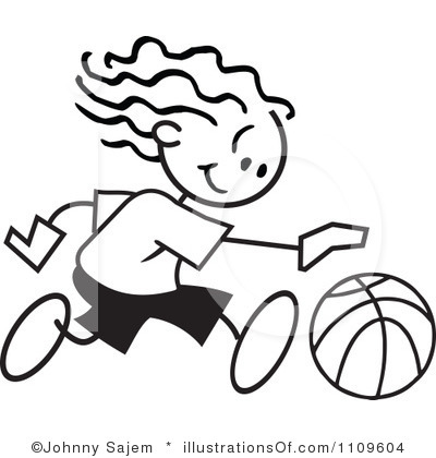 Girl Basketball Player Clipart | Clipart Panda - Free Clipart Images