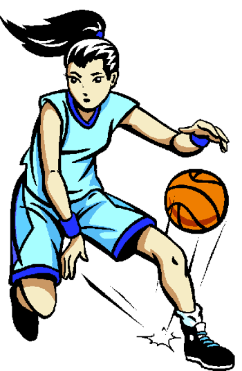 Girl Basketball Player Clipart Shooting | Clipart Panda ...