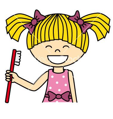 Girl Brush Teeth Clipart | Clipart Panda - Free Clipart Images