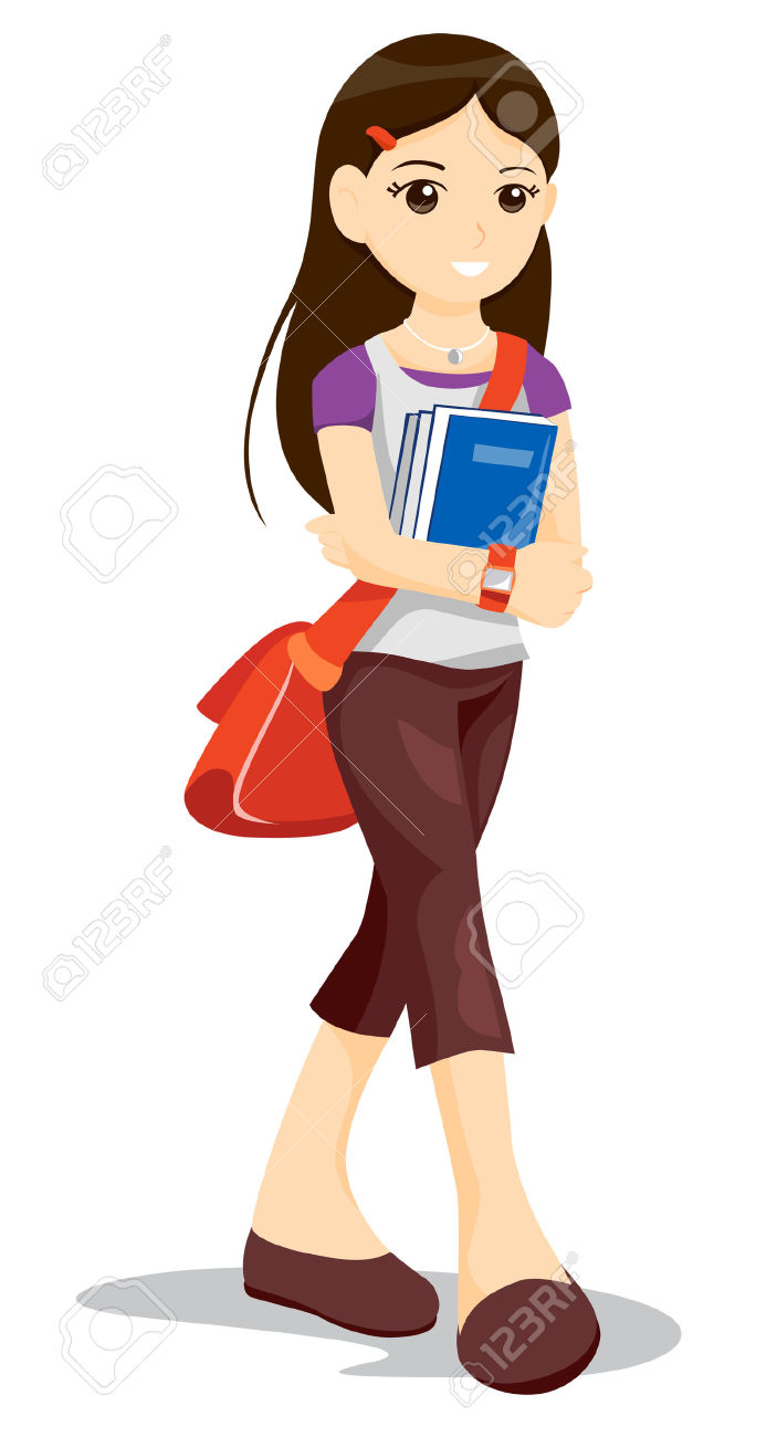 more girl student clipart clipart panda free clipart images rh clipartpanda com boy and girl student clipart girl student thinking clipart