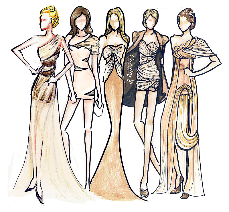 Fashion Drawing Tumblr | Clipart Panda - Free Clipart Images