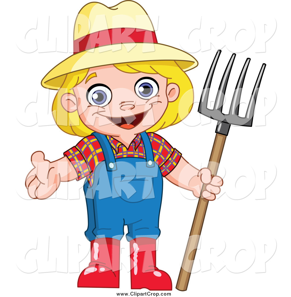 Girl Farmer Clipart | Clipart Panda - Free Clipart Images
