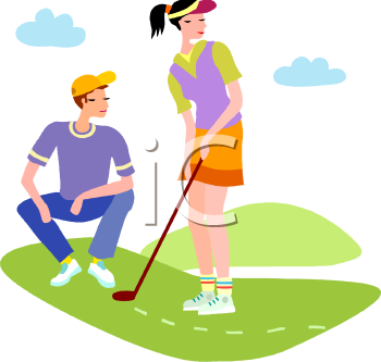 girl golf clip art clipart panda free clipart images rh clipartpanda com Free Golf Graphics Golf Tee Clip Art Free