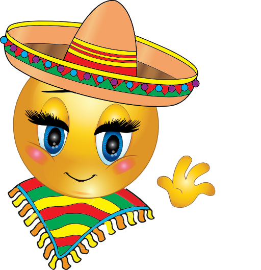 Mexican Girl Smiley Emoticon | Clipart Panda - Free Clipart Images
