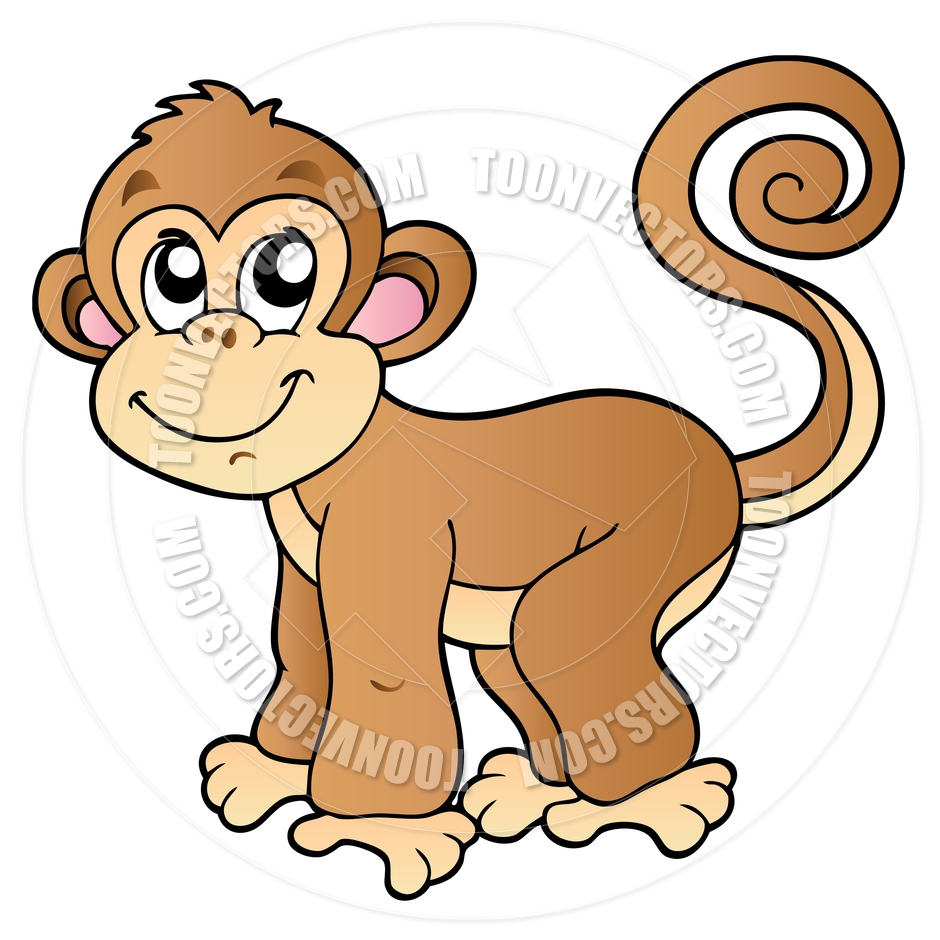 clipart image of monkey - photo #45