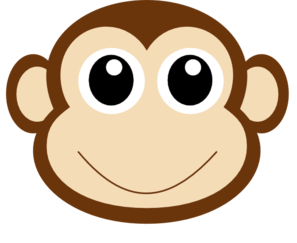 Image result for monkey clipart