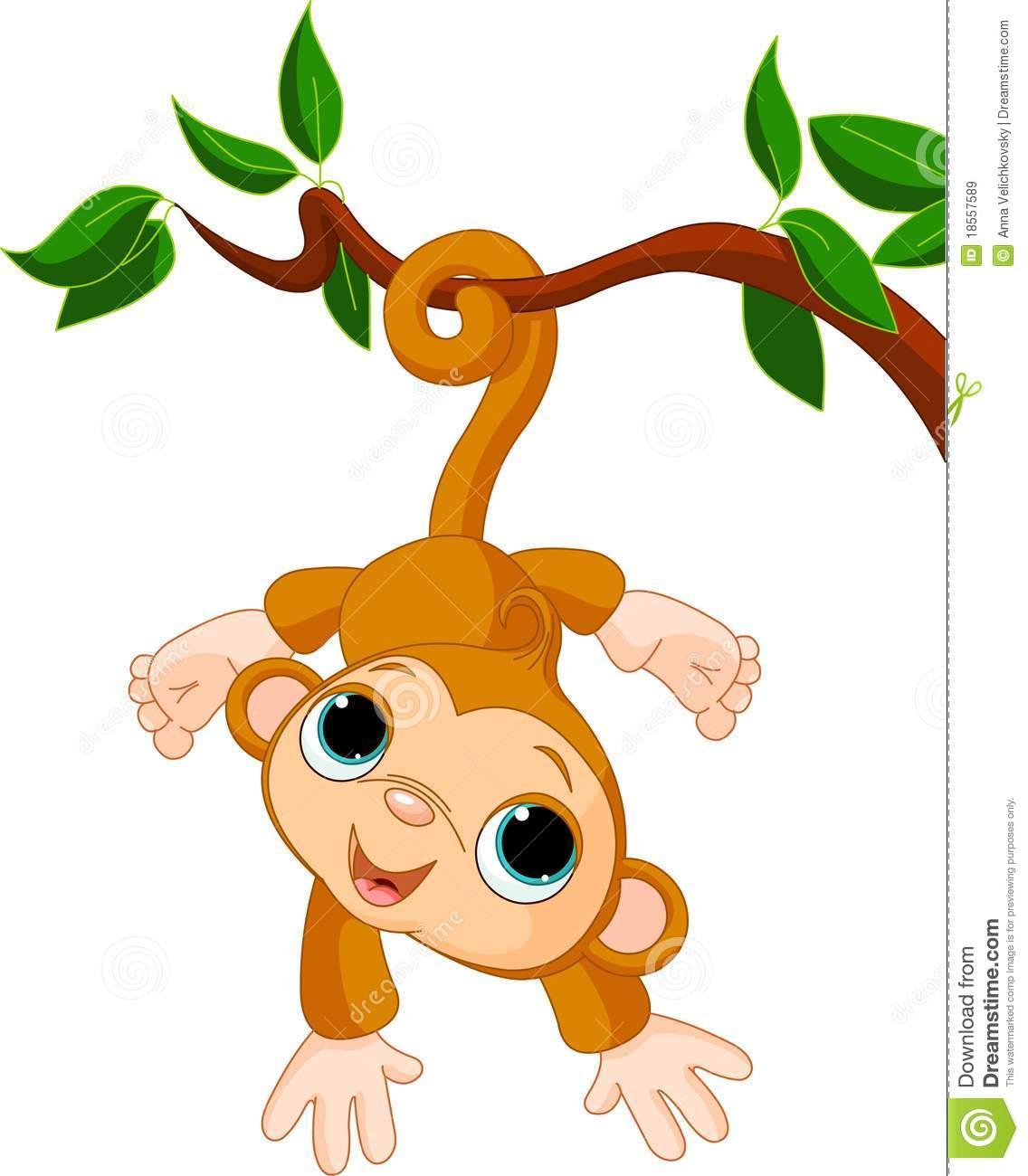 baby monkey clip art - photo #4