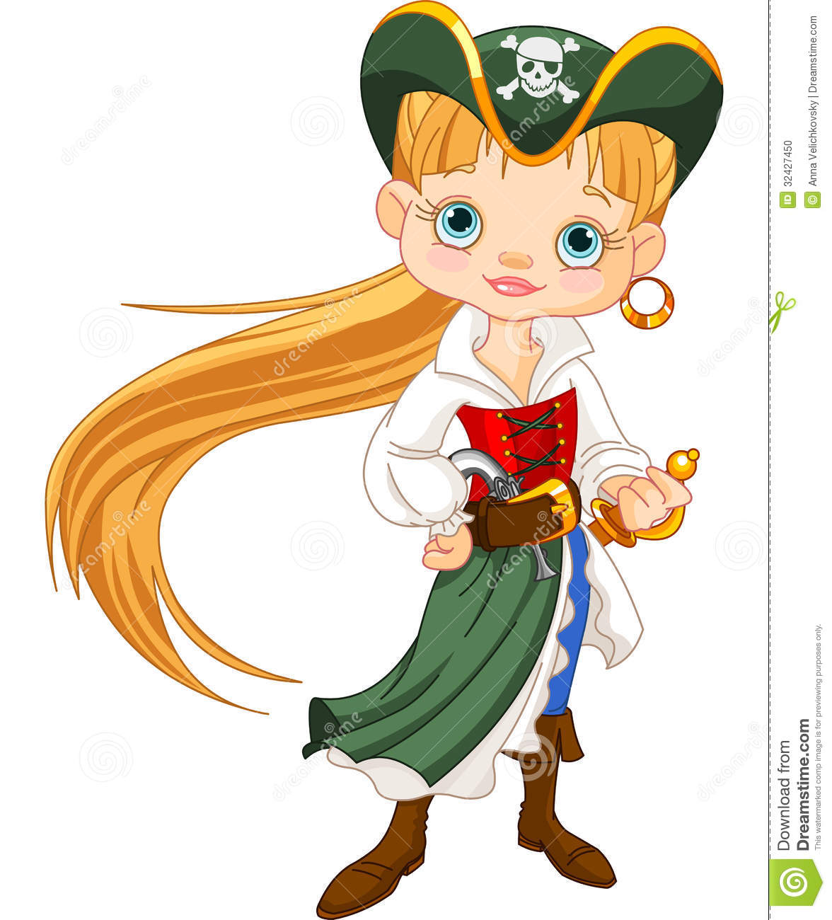 Girl Pirate Clipart | Clipart Panda - Free Clipart Images - photo#17