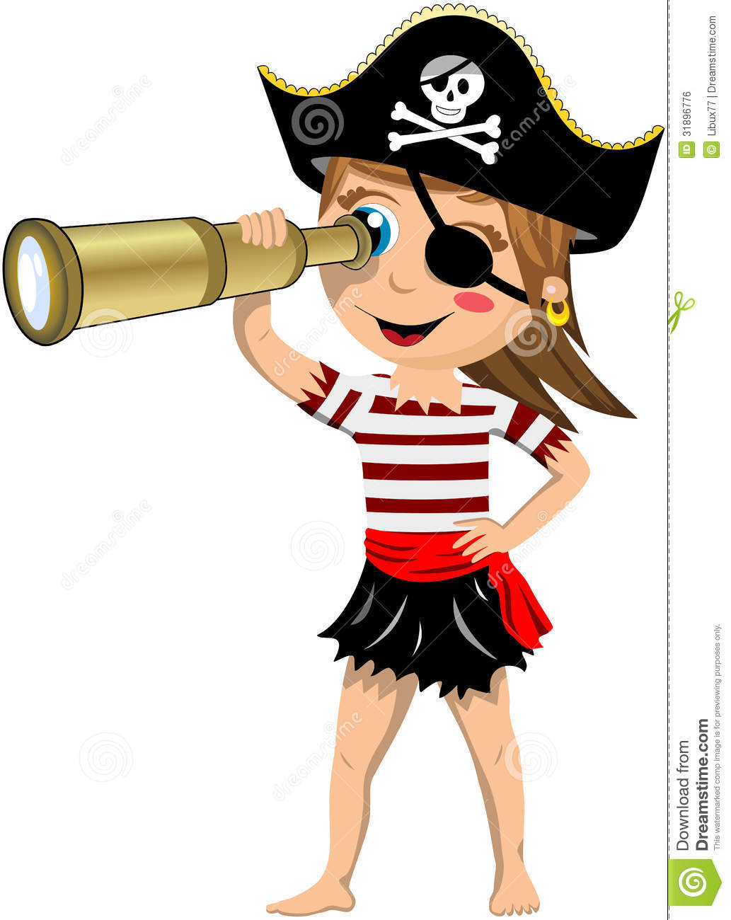 Girl Pirate Clipart | Clipart Panda - Free Clipart Images - photo#15