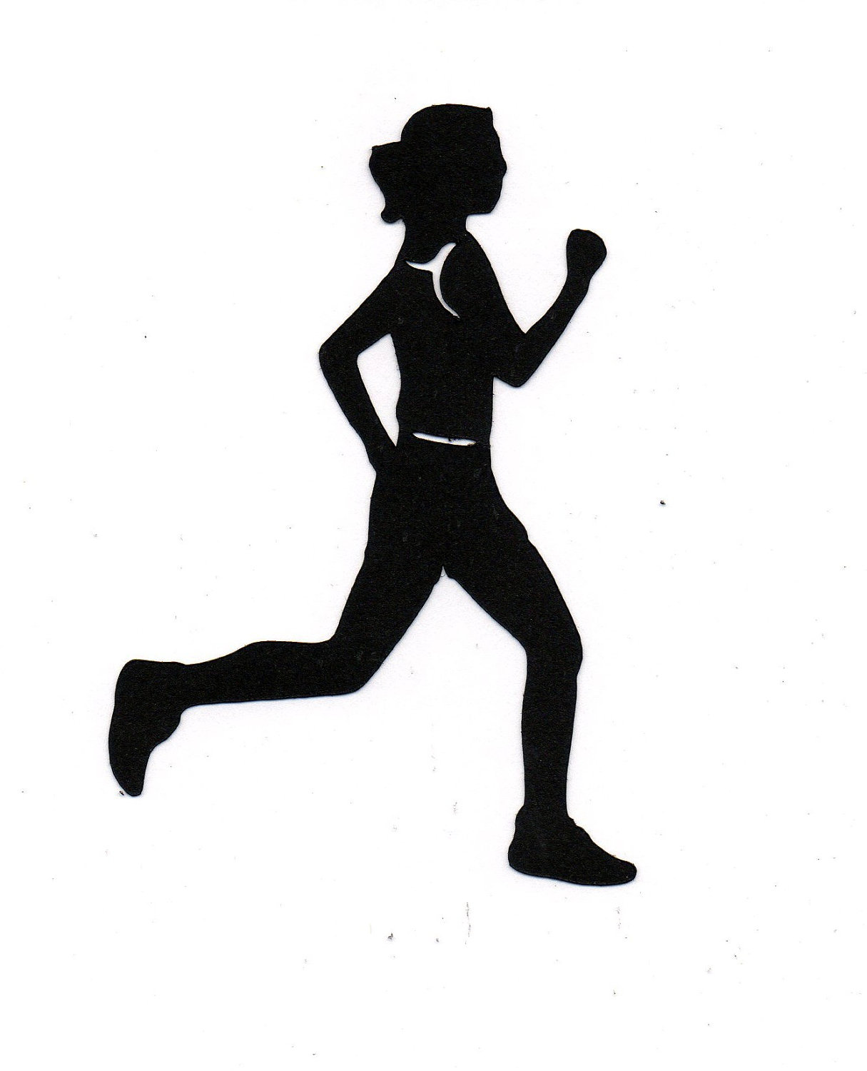 Girl Running Silhouette | Clipart Panda - Free Clipart Images