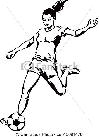 Soccer Player Clipart | Clipart Panda - Free Clipart Images