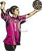 Volleyball Jump Serve Clipart   Clipart Panda - Free ...