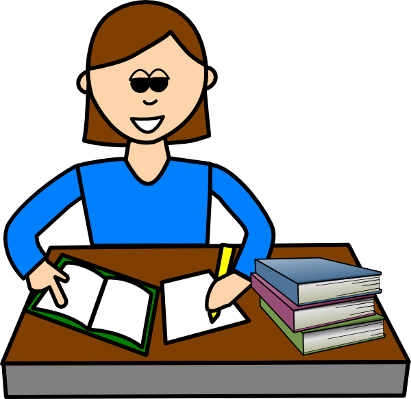 Student Studying Science Clipart | Clipart Panda - Free Clipart Images