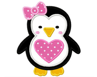 Girly Penguin | Clipart Panda - Free Clipart Images