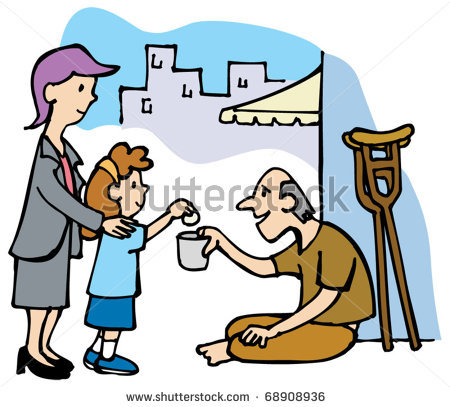 Giving Money Clipart |...