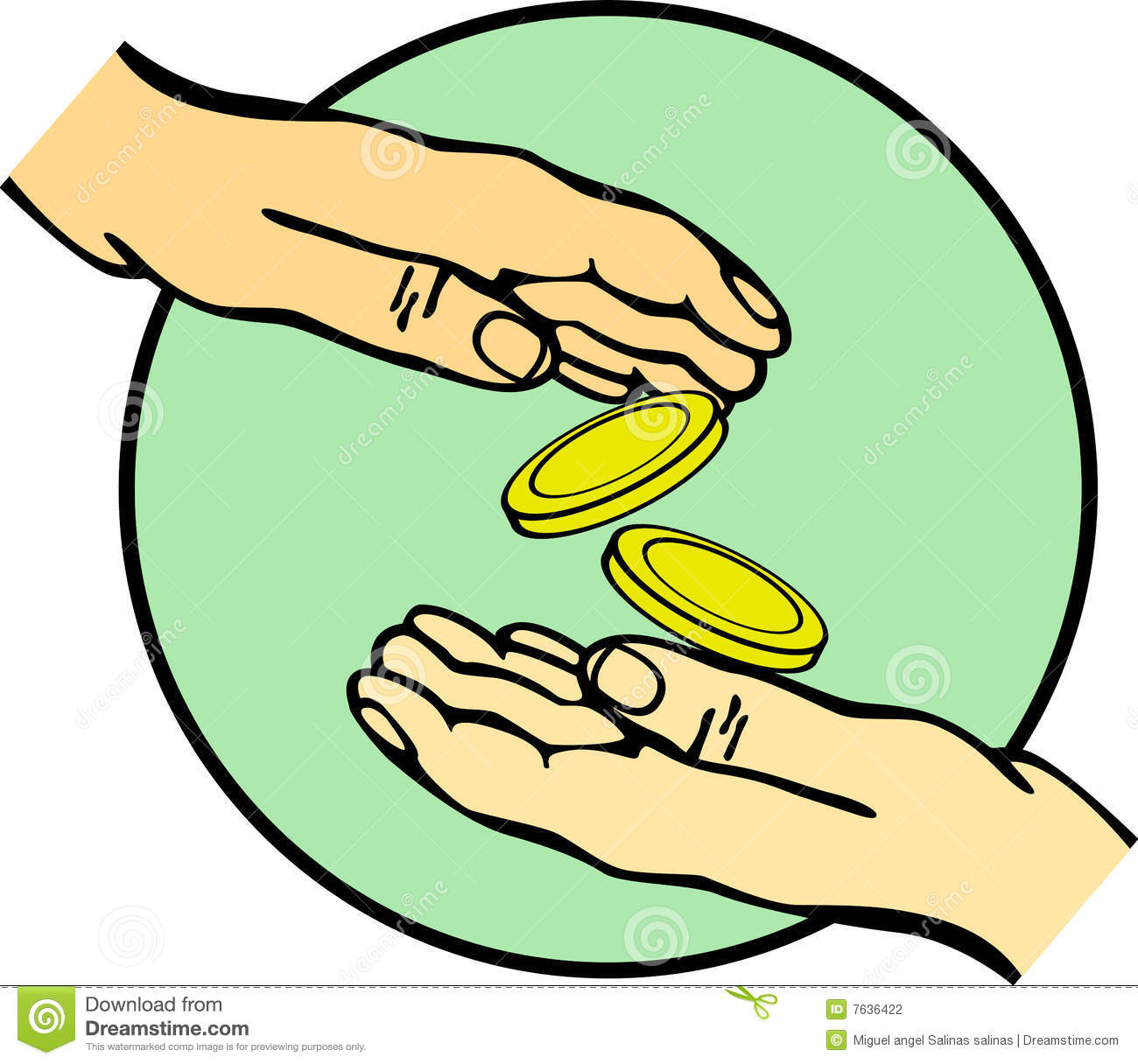 Giving Money Clipart Clipart Panda Free Clipart Images