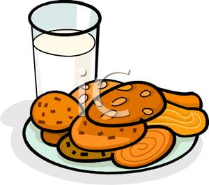 Milk And Cookies Clipart | Clipart Panda - Free Clipart Images