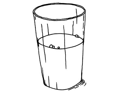 Glass Of Milk Drawing   Clipart Panda - Free Clipart Images