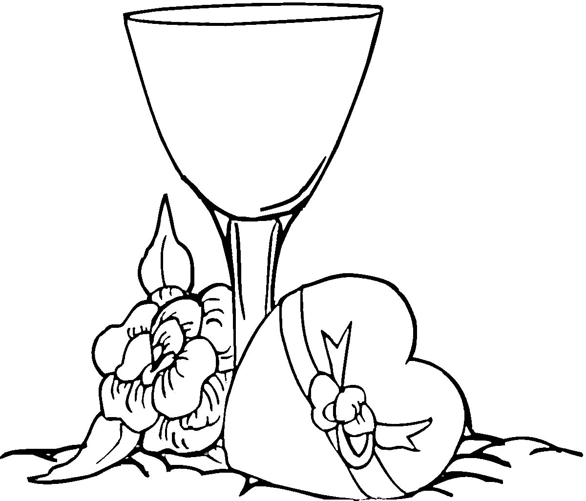 wine glass coloring page - glass of wine coloring clipart panda free clipart images