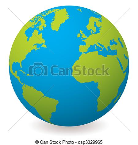 Natural Earth Globe Clipart Clipart Panda Free Clipart Images