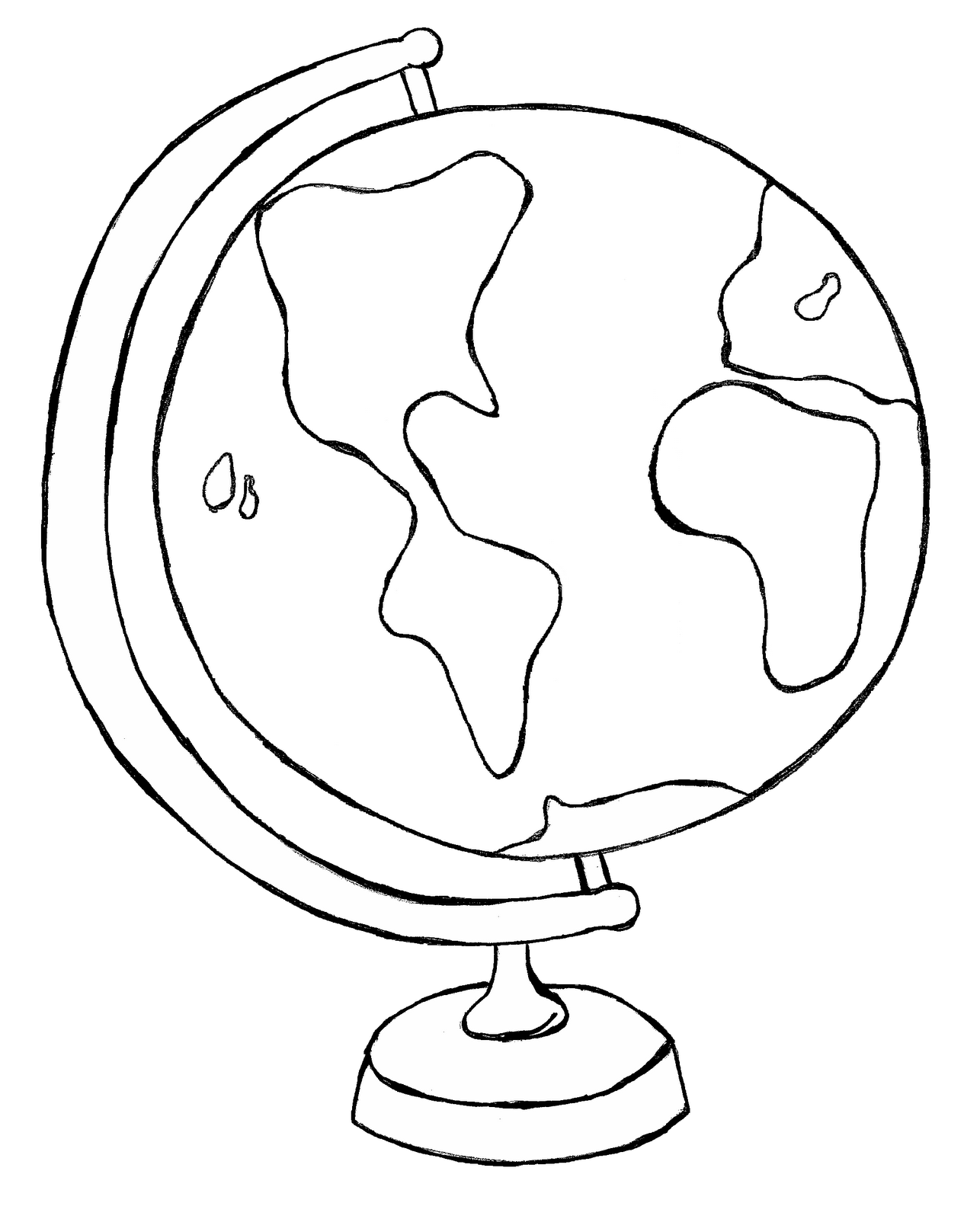 globe-clipart-black-and-white-ncBG8pAcA pngWorld Clipart Black And White