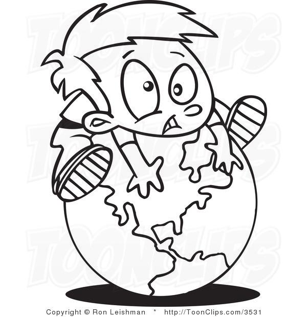 Line Art Globe : Globe drawing clipart panda free images