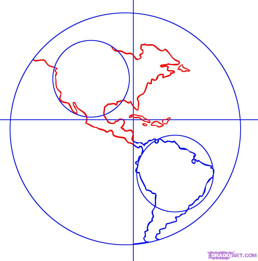 Globe drawing clipart panda free clipart images for How to draw websites for free