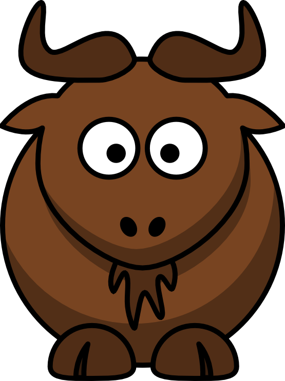 Gnu Clip Art | Clipart Panda - Free Clipart Images