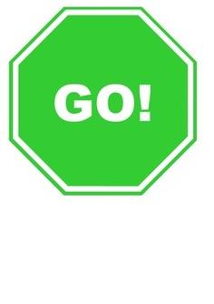 go sign clipart