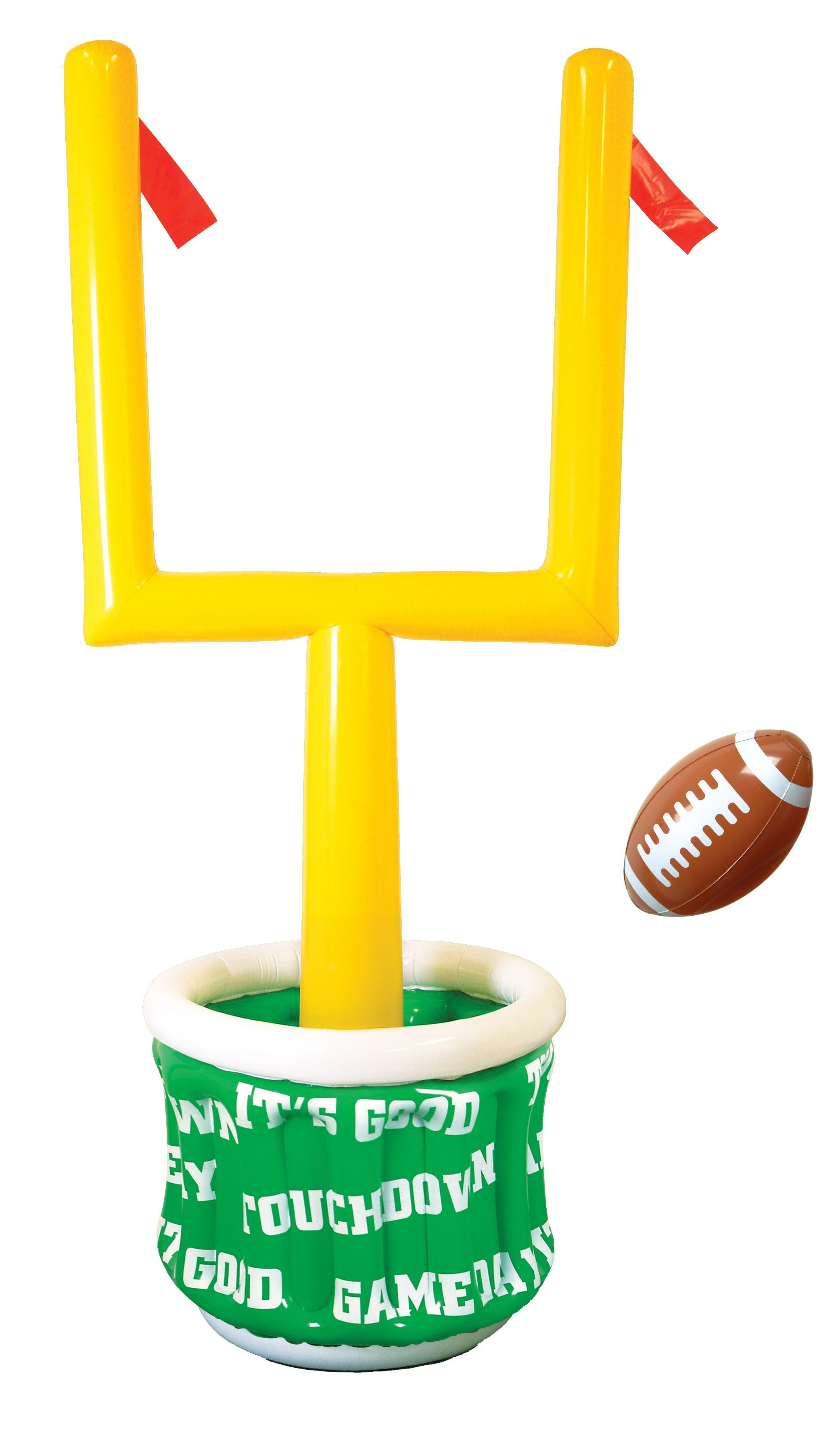 yellow field goal clipart rh worldartsme com football field goal post clipart Football Player Clip Art