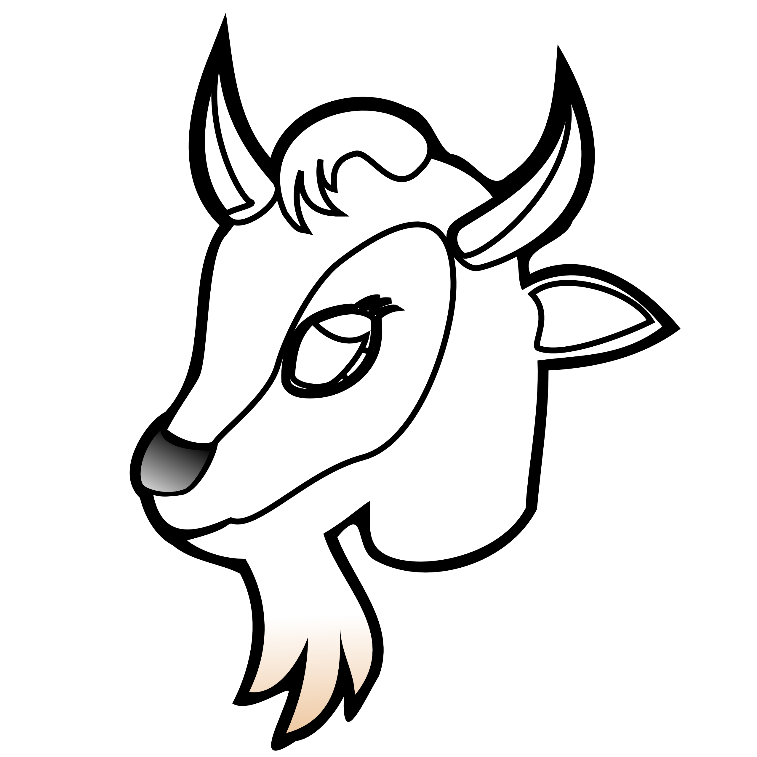 goat%20clipart%20black%20and%20white