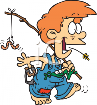 Boy Fishing Clipart | Clipart Panda - Free Clipart Images