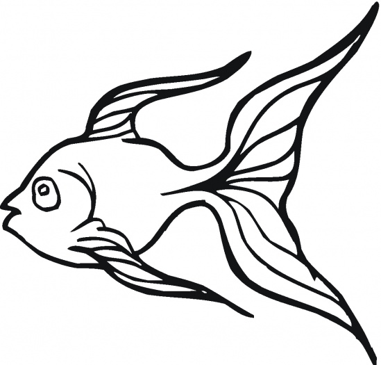 Coloring Pages Goldfish
