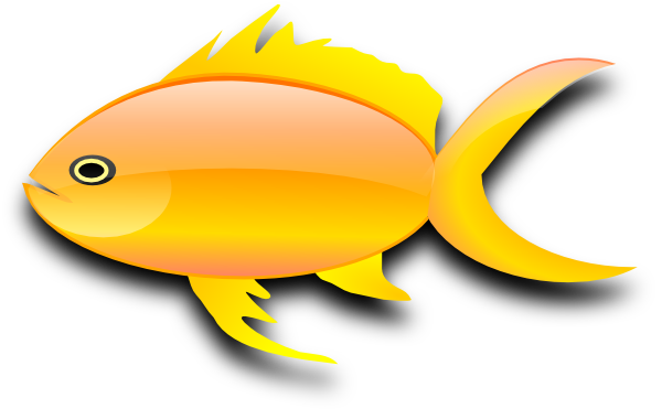 Clip Art Goldfish Clip Art gold fish clip art black and white clipart panda free clipart