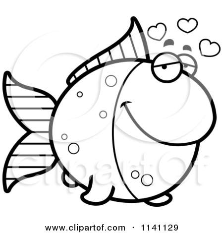 Gold Fish Coloring Page | Clipart Panda - Free Clipart Images