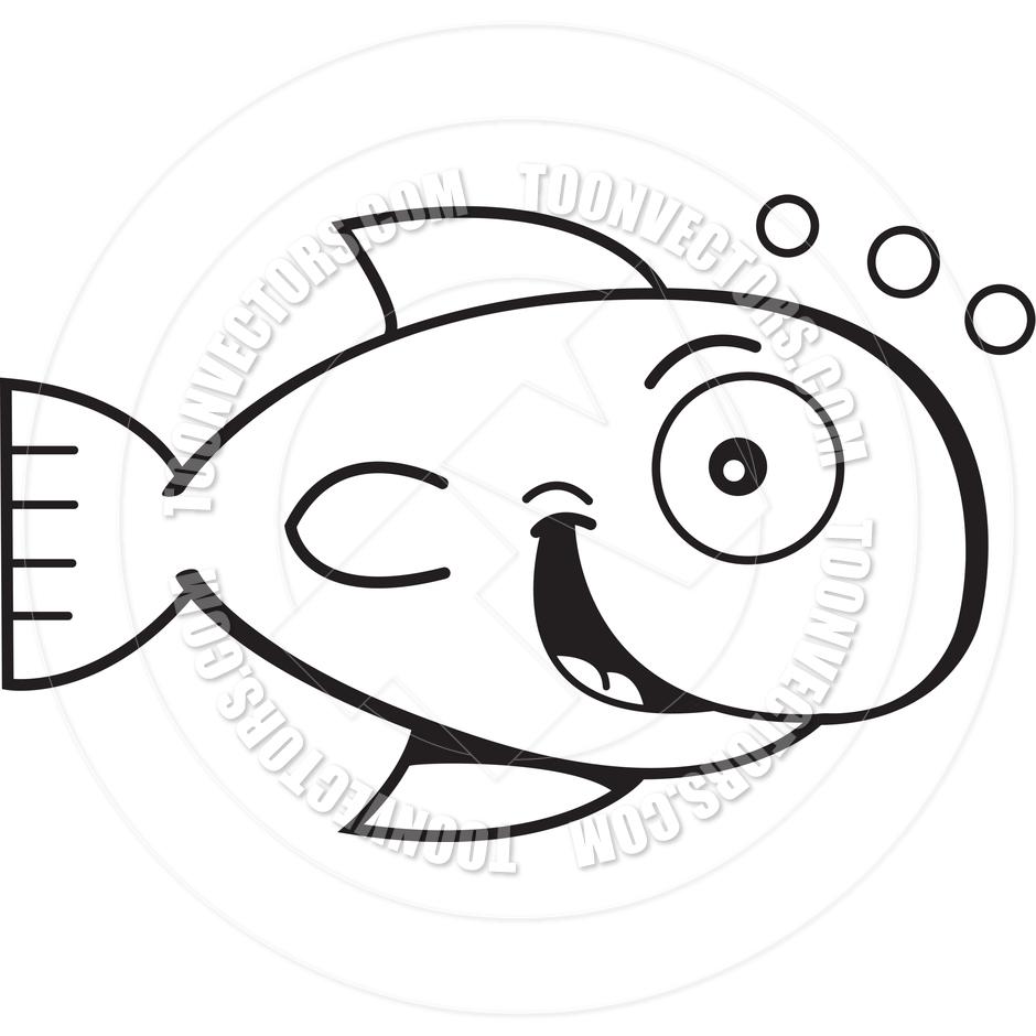 goldfish%20clipart%20black%20and%20white