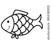 goldfish%20outline%20clipart