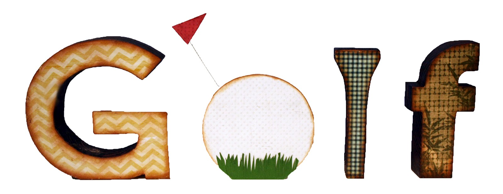 golf ball border clip art - photo #31