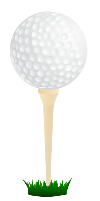 Golf Ball On Tee With Grass Clip Art | Clipart Panda ... Golf Ball On Tee Clipart