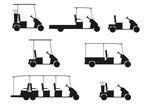 Golf Cart Clip Art Black And White | Clipart Panda - Free Clipart ...