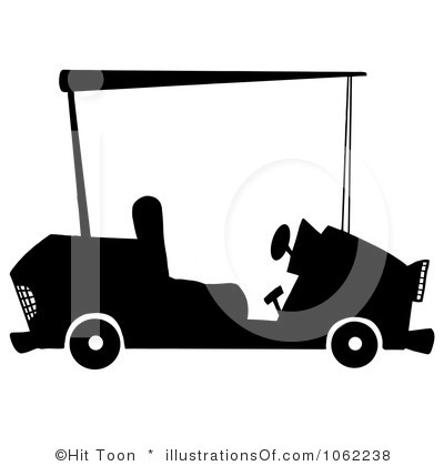 Free Clip Art Golf Cart With Seat Back Html on