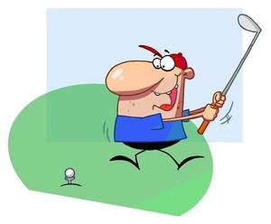 golf-clip-art-a_man_hitting_a_golf_ball_with_a_club_0521-1005-1515 ...