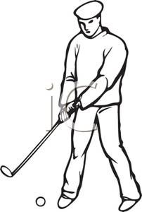 Golf Clip Art Black And White Clipart Panda Free Clipart Images