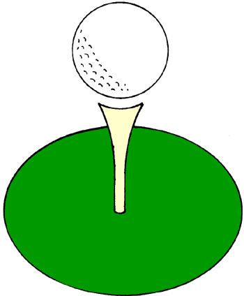 Leisure Clip Art · Golf | Clipart Panda - Free Clipart Images Golf Ball On Tee Clipart