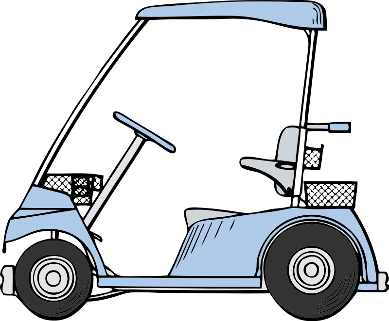 Use this golf cart clip art on