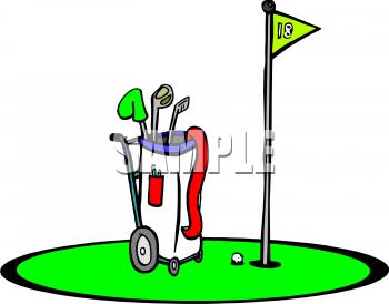 Golf Club Bag Clip Art | Clipart Panda - Free Clipart Images